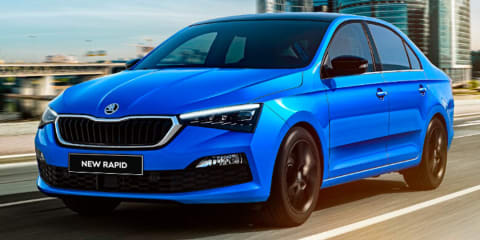 2020 Skoda Rapid revealed in Russia