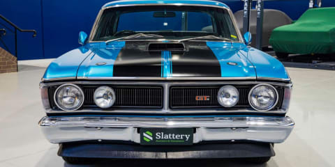 Now that is art: Australian muscle car prices remain in top gear