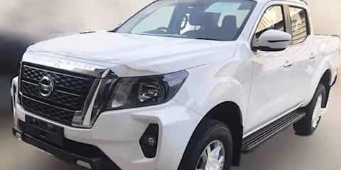 2021 Nissan Navara facelift spied testing – UPDATE