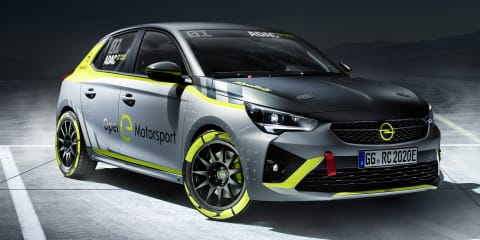 2020 Opel Corsa-e Rally unveiled