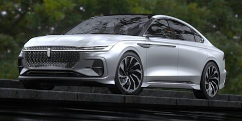 Lincoln Zephyr Reflection revealed: Zephyr name revived for Shanghai motor show concept
