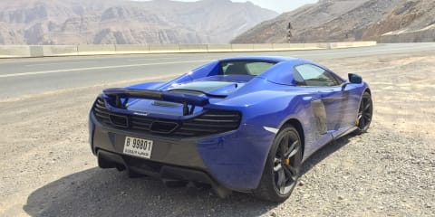 2016 McLaren 650S Spider — Driving Jabal Jais, UAE's highest mountain road
