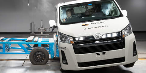 ANCAP: New HiAce, Nissan Leaf get 5-star crash safety ratings