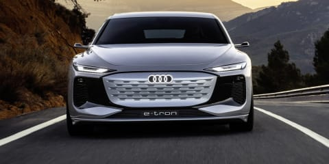 Audi A6 E-Tron Concept revealed, production model due in 2023