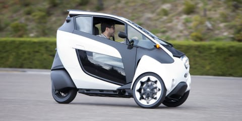 Toyota i-Road Concept Review