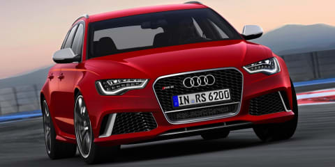 2013 Audi RS6 Avant: 400kW wagon revealed
