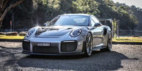 Porsche 911 GT2 RS and The Scarborough Hotel