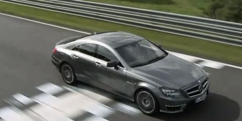 Video: 2012 Mercedes-Benz CLS 63 AMG promotional footage
