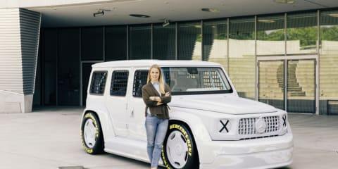 Mercedes-Benz collaborates to create G-Class art piece for charity