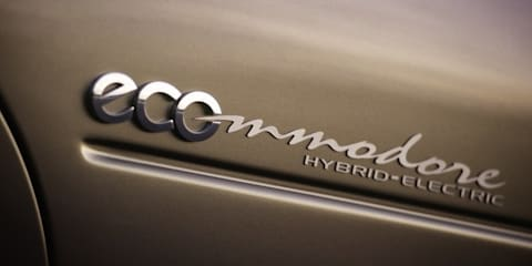Hybrid and diesel Commodores two years away