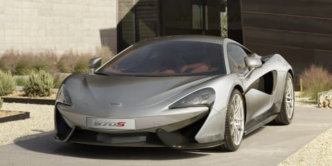 McLaren 570S Coupe revealed : British Porsche 911 rival outed