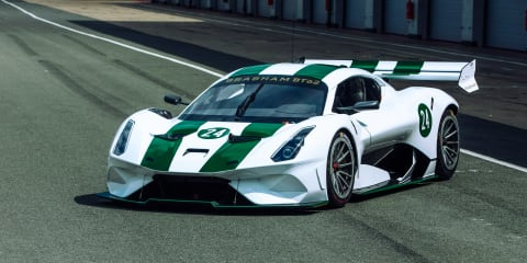 Brabham BT62 supercar tips the scales at 1600kg … of downforce. Here's how