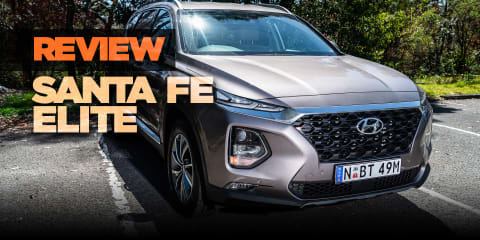 2018 Hyundai Santa Fe Elite review: CRDi diesel AWD