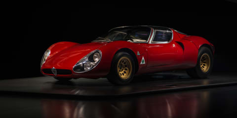 Alfa Romeo 33 Stradale celebrates its 50th birthday