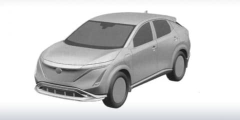 2021 Nissan Ariya electric SUV revealed in patent - UPDATE: Teaser video