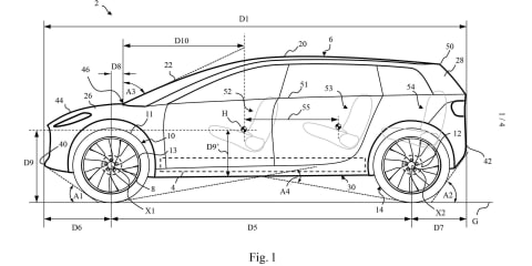 Dyson patents hint at design of its electric crossover