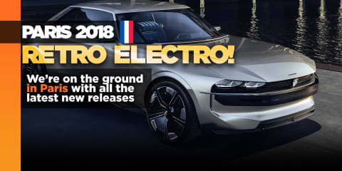 Peugeot E-Legend: Retro electro concept lands in Paris
