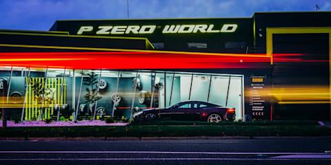 Lamborghini, Laurina, and Pirelli P Zero World