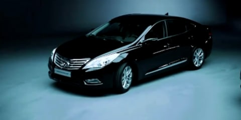 Video: 2011 Hyundai Grandeur, not coming to Australia