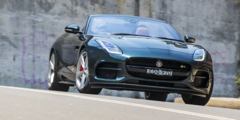 2020 Jaguar F-Type R P550 AWD Convertible review