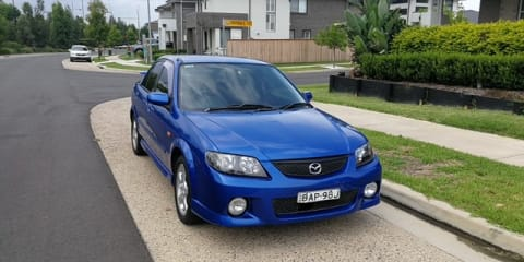 2002 Mazda 323 Protege Sports Edition review