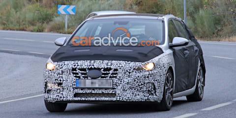 2020 Hyundai i30 spied again