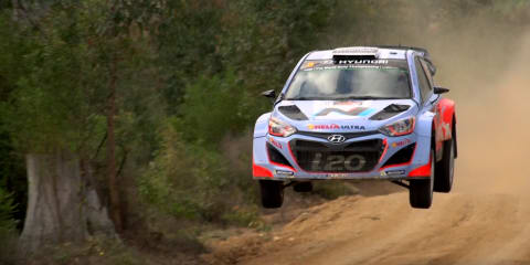 WRC hot laps with Chris Atkinson