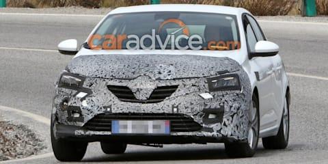 2020 Renault Megane spied