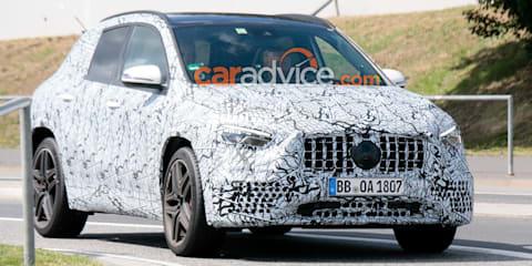 2020 Mercedes-AMG GLA45 spied