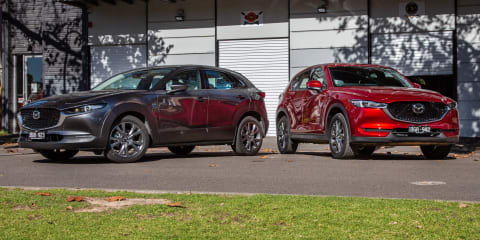 2020 Mazda CX-30 v CX-5 comparison review