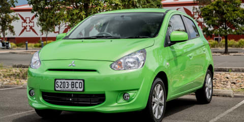 2014 Mitsubishi Mirage LS Hatch Speed Date