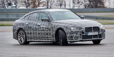 2021 BMW i4 teased