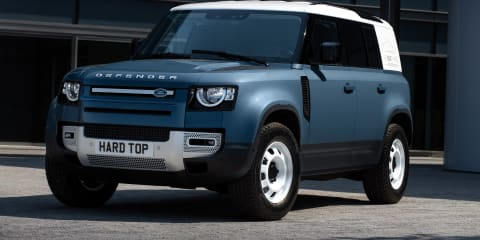 2021 Land Rover Defender Hard Top one step closer to Australia