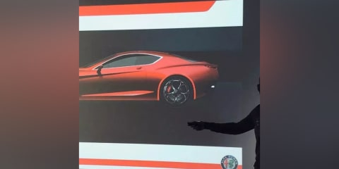 2022 Alfa Romeo GTV rendering leaked