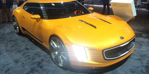 Kia GT4 Stinger Concept at  NYIAS 2014