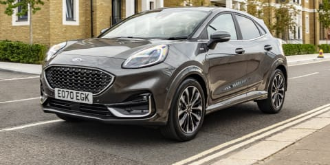 2021 Ford Puma mild-hybrid gains dual-clutch automatic in Europe, Australian launch not planned