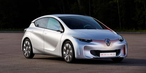 Renault Eolab plug-in hybrid concept claims 1.0L/100km fuel economy