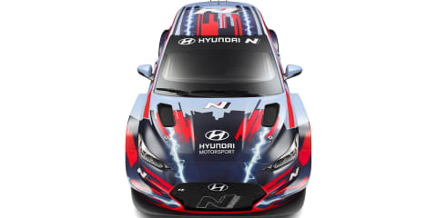 Hyundai Veloster N ETCR: Electric race car unveiled