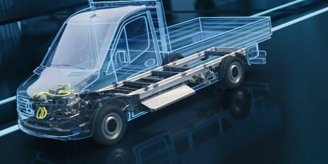 Mercedes-Benz Vans developing all-new eSprinter architecture