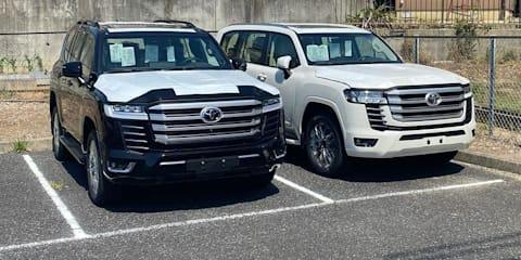 2022 Toyota LandCruiser 300 Series leaked again in clearer detail