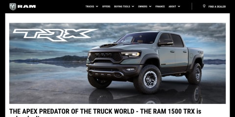 2021 Ram 1500 TRX orders open in Australia, prices yet to be announced
