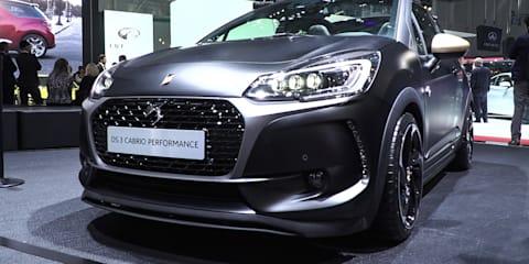 DS 3 Performance Hot Hatch :  2016 Geneva Motor Show