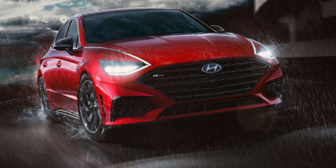 2021 Hyundai Sonata N-Line revealed ahead of big unveiling event