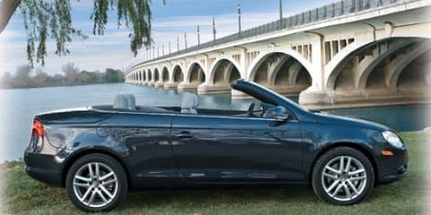 Volkswagen Eos turns BlueMotion