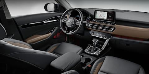 2020 Kia Seltos interior revealed