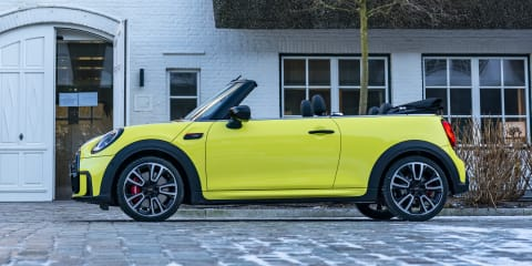 Gallery: 2022 Mini John Cooper Works Convertible tours a German coastline