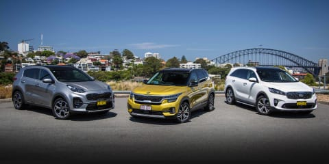 Kia's SUV range - Choose your ride