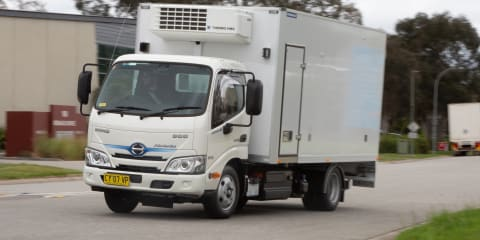 2020 Hino 300 Series 616 Hybrid review