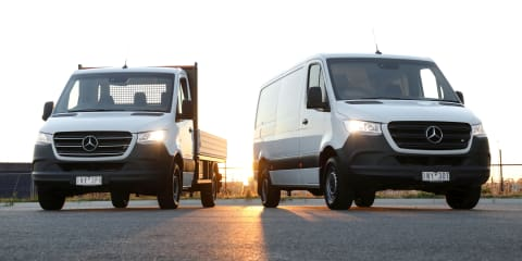 2019 Mercedes-Benz Sprinter variant breakdown