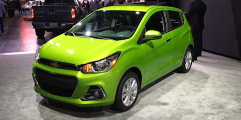 Chevrolet Spark : Detroit Auto Show 2016